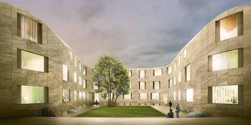 David Kohn Architects New College Oxford